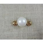 Casuals Fairhope Pearl Enhancer - Gold
