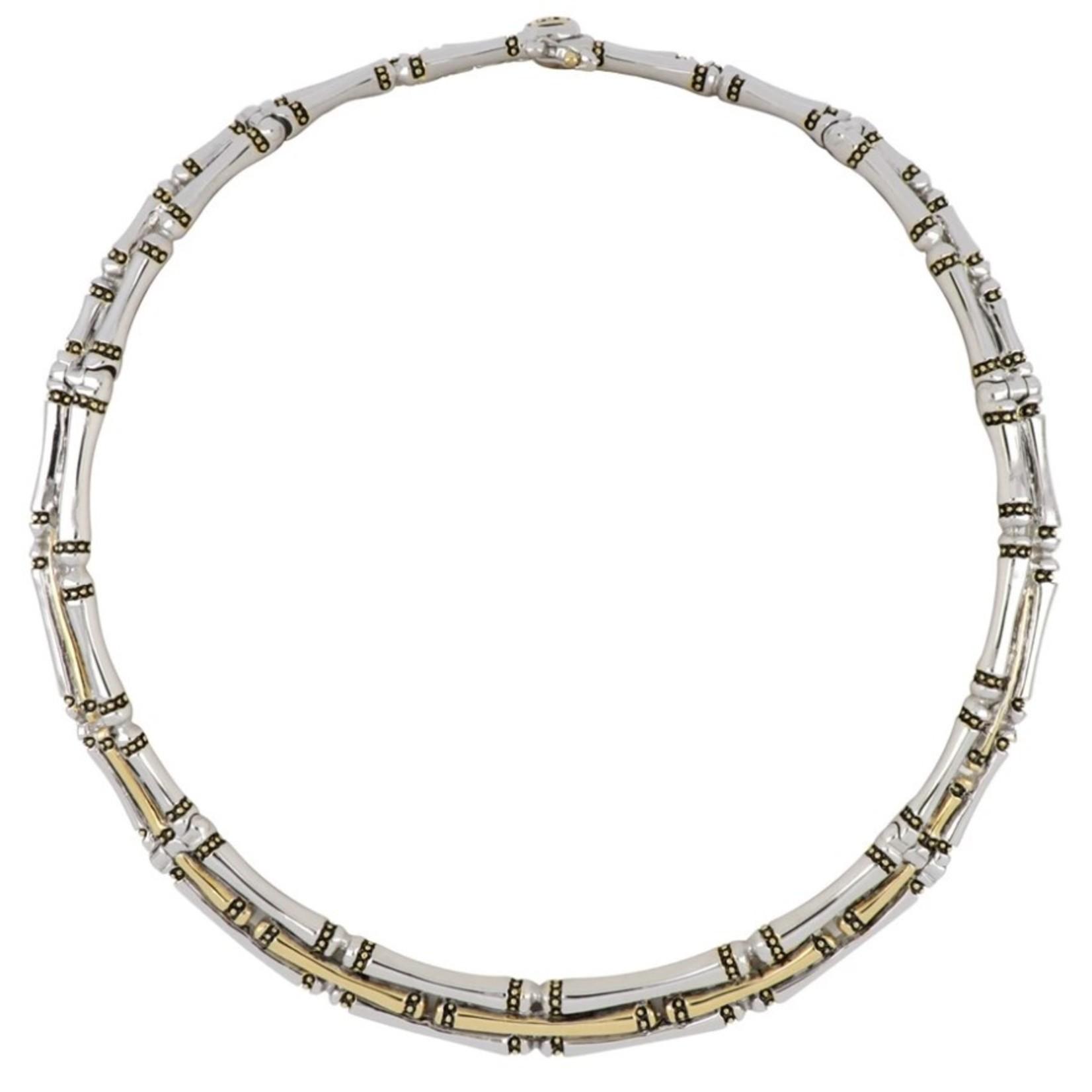 John Medeiros John Mederios Canias 3 Row Necklace