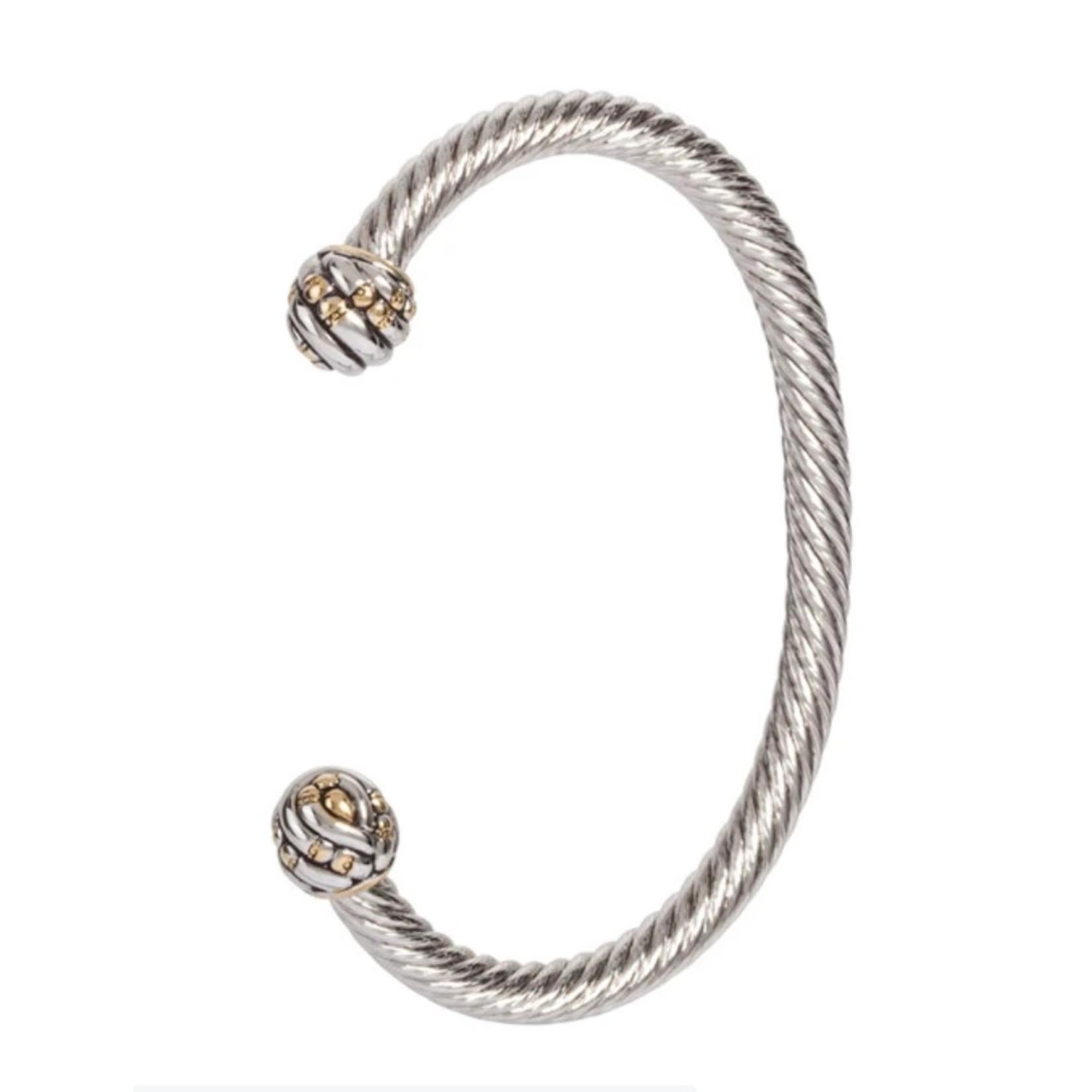 John Medeiros John Mederios Canias Medium Wire Cuff Bracelet