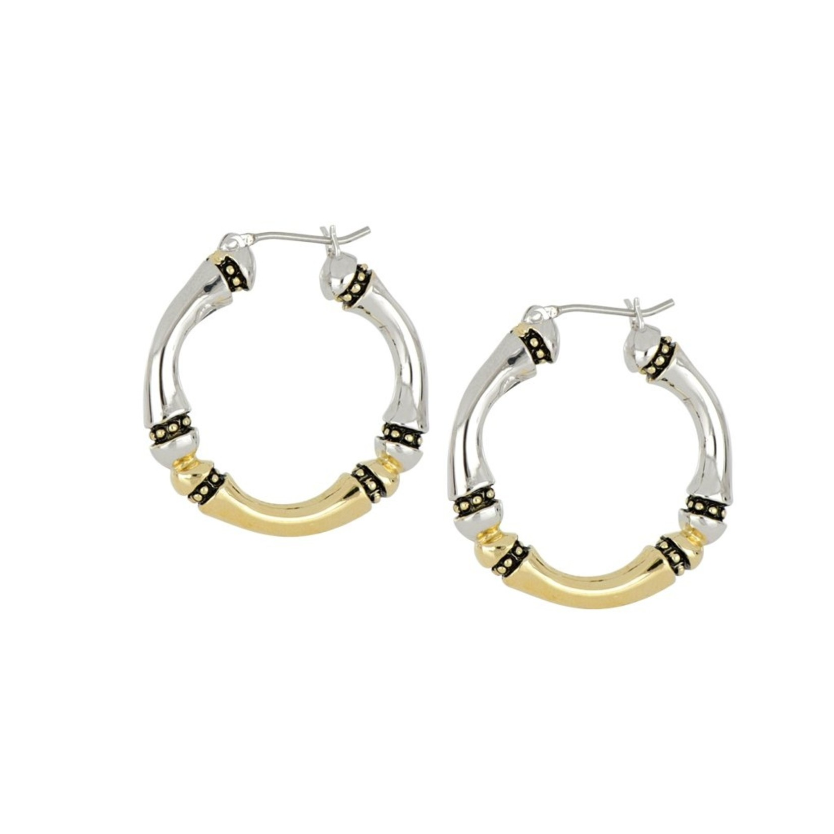 John Medeiros John Medeiros Canias Collection Large Hoop Earring