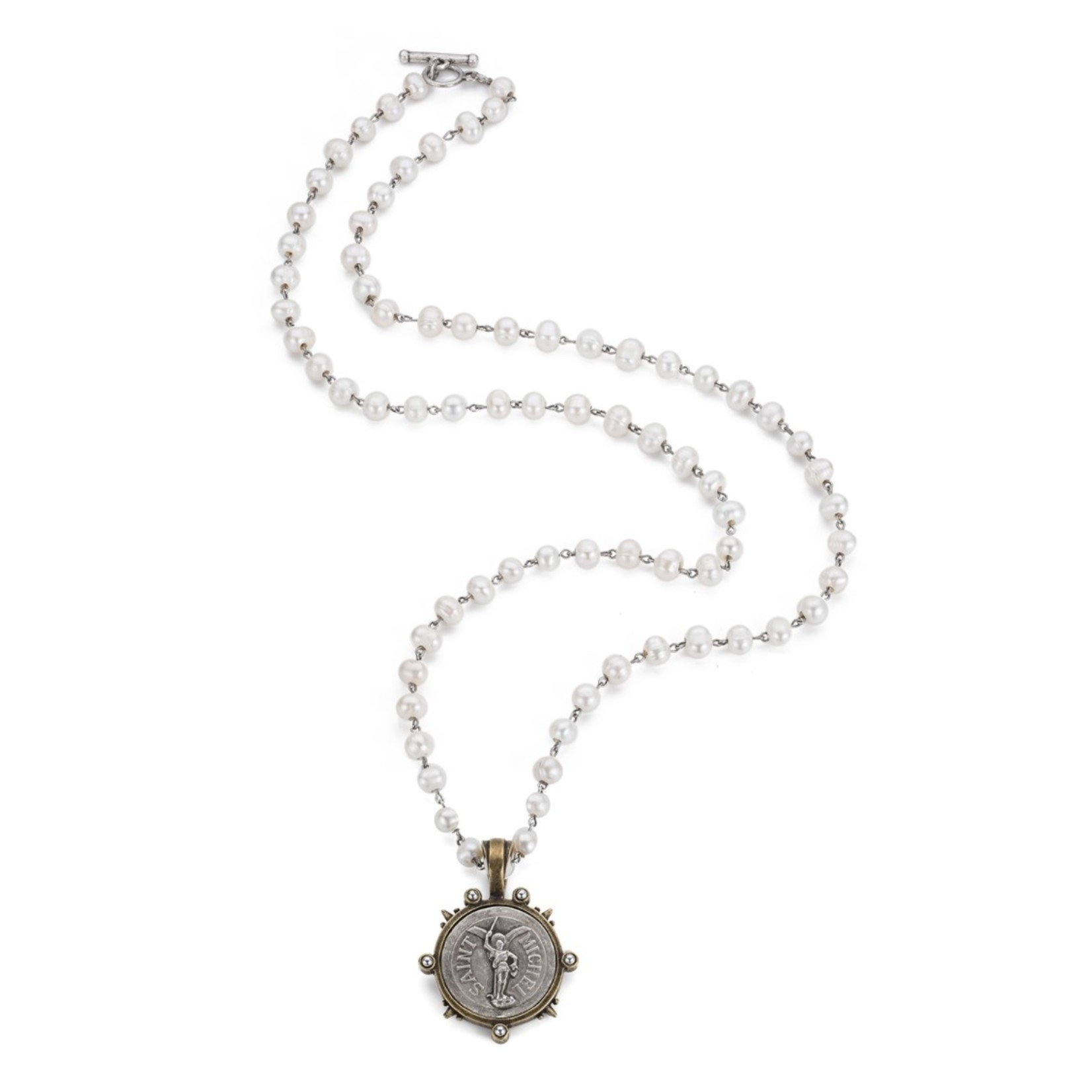 French Kande St. Michel Necklace