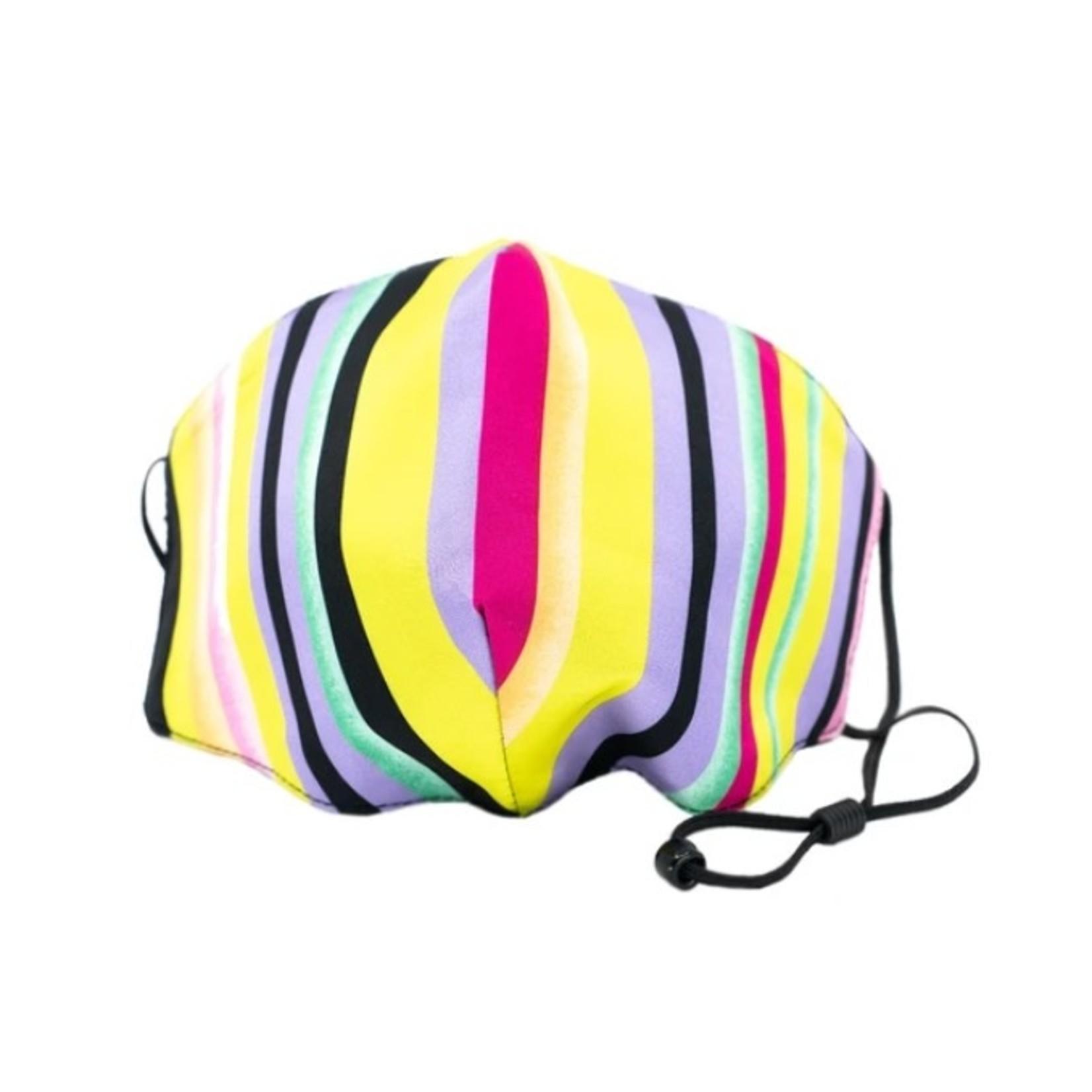 Berek Neon Multi Stripe Mask