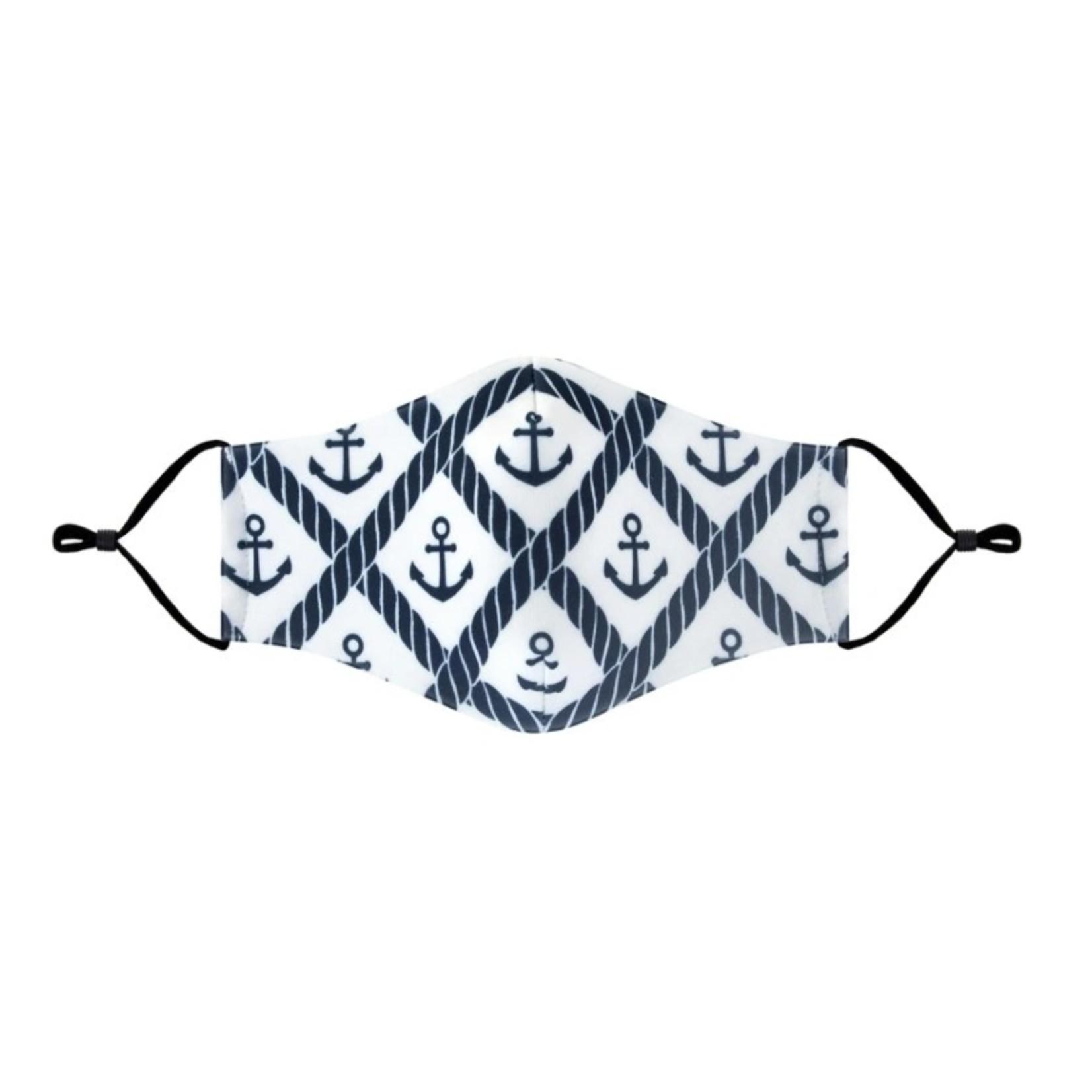 Anchor pattern cloth mask