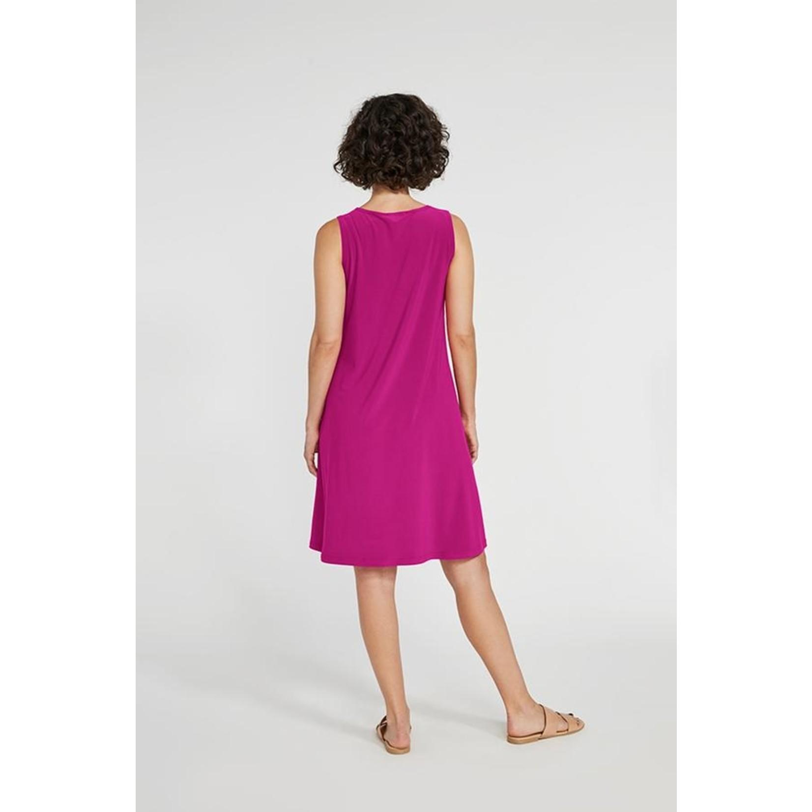 Sympli Sympli Sleeveless Trapeze Dress - Short