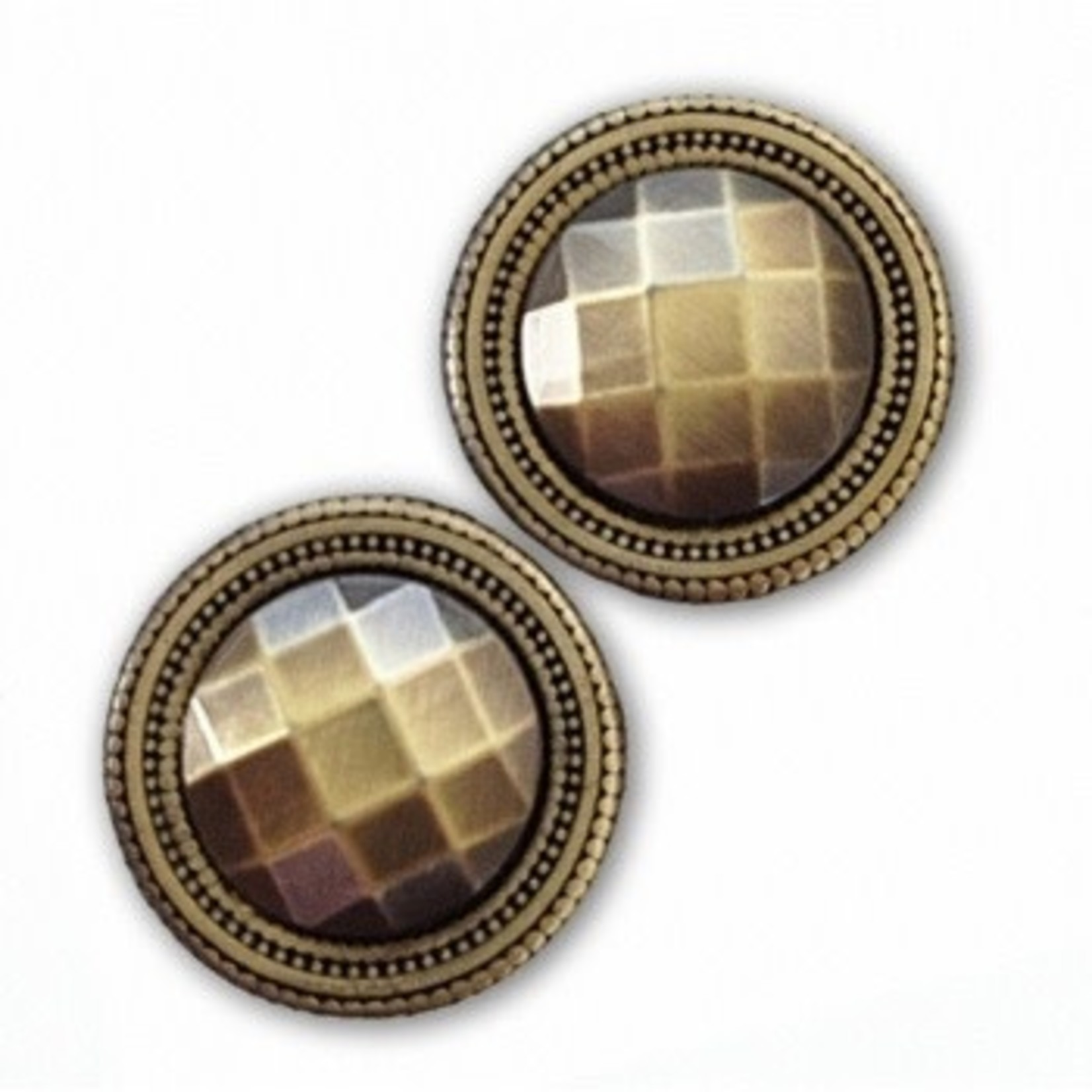 Magnebutton Antique II  Gold Closure