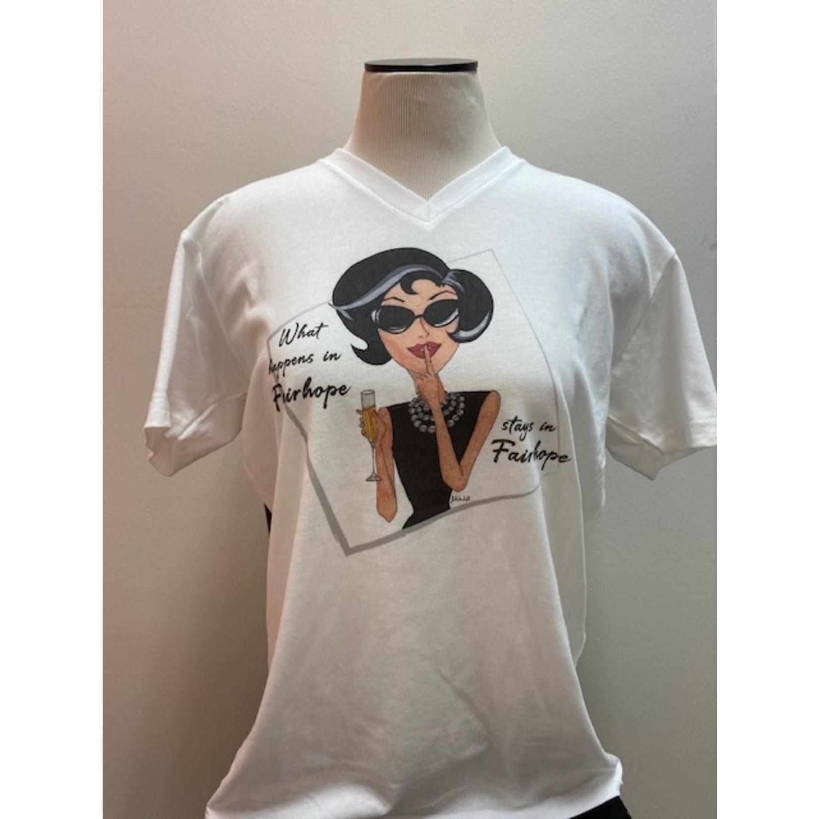 "Casuals Fairhope ""Fairhope"" V-Neck Tee Shirt"