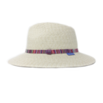 Wallaroo Fedora Sun Hat with Striped Band
