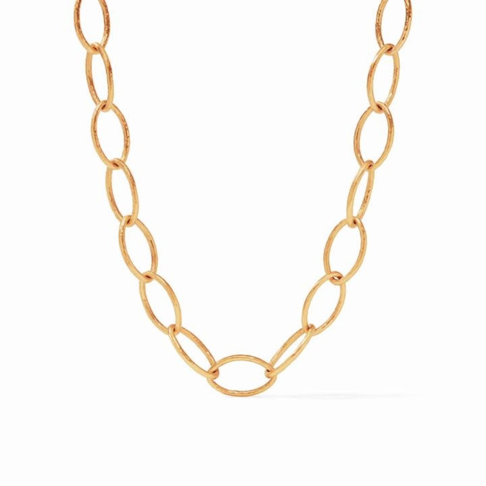 Julie Vos Fleur-de-Lis Link Necklace