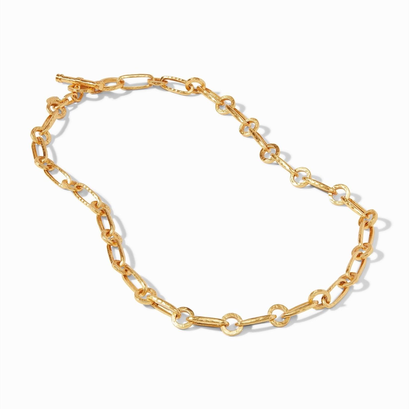 Julie Vos Palladio Link Delicate Necklace Gold