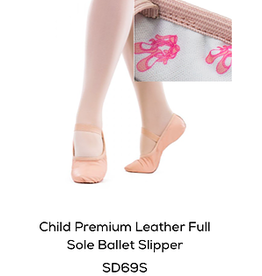 SoDanca Child Leather Ballet Shoe