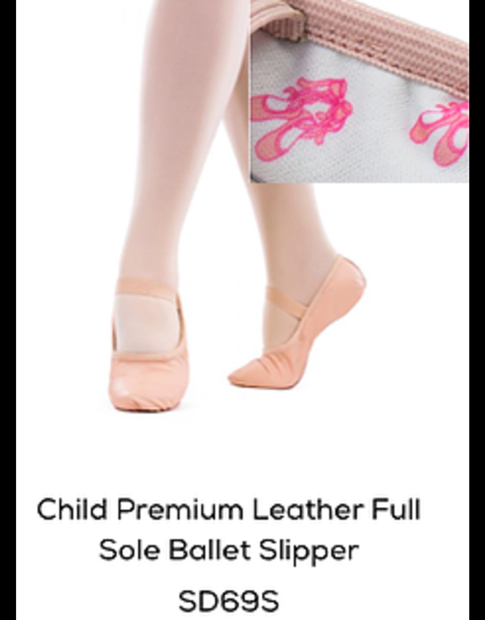 SoDanca Child Leather Ballet Shoe