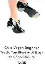 SoDanca Tap Shoe Child w/ easy snap under ribbon