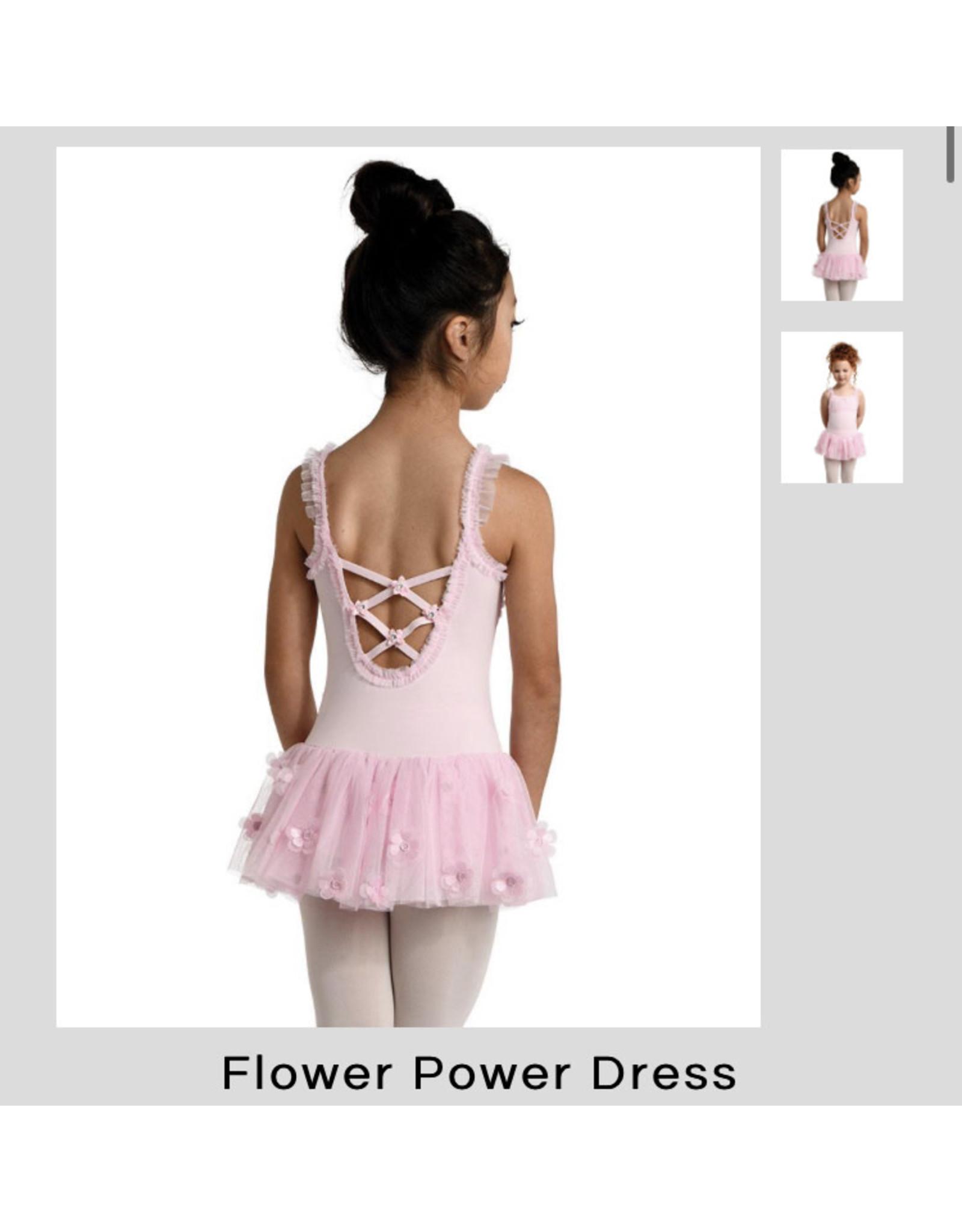 Danshuz Danznmotion Pink Dress w/ Flowers
