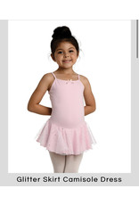 Danshuz Danznmotion Pink Camisole Ballet Dress with glitter skirt