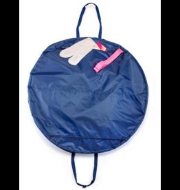 Gaynor Minden Gaynor Minden Tutu Bag Navy/pink straps