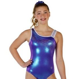 Snowflake Purple Iridescent Breeze Gymnastics Leotard