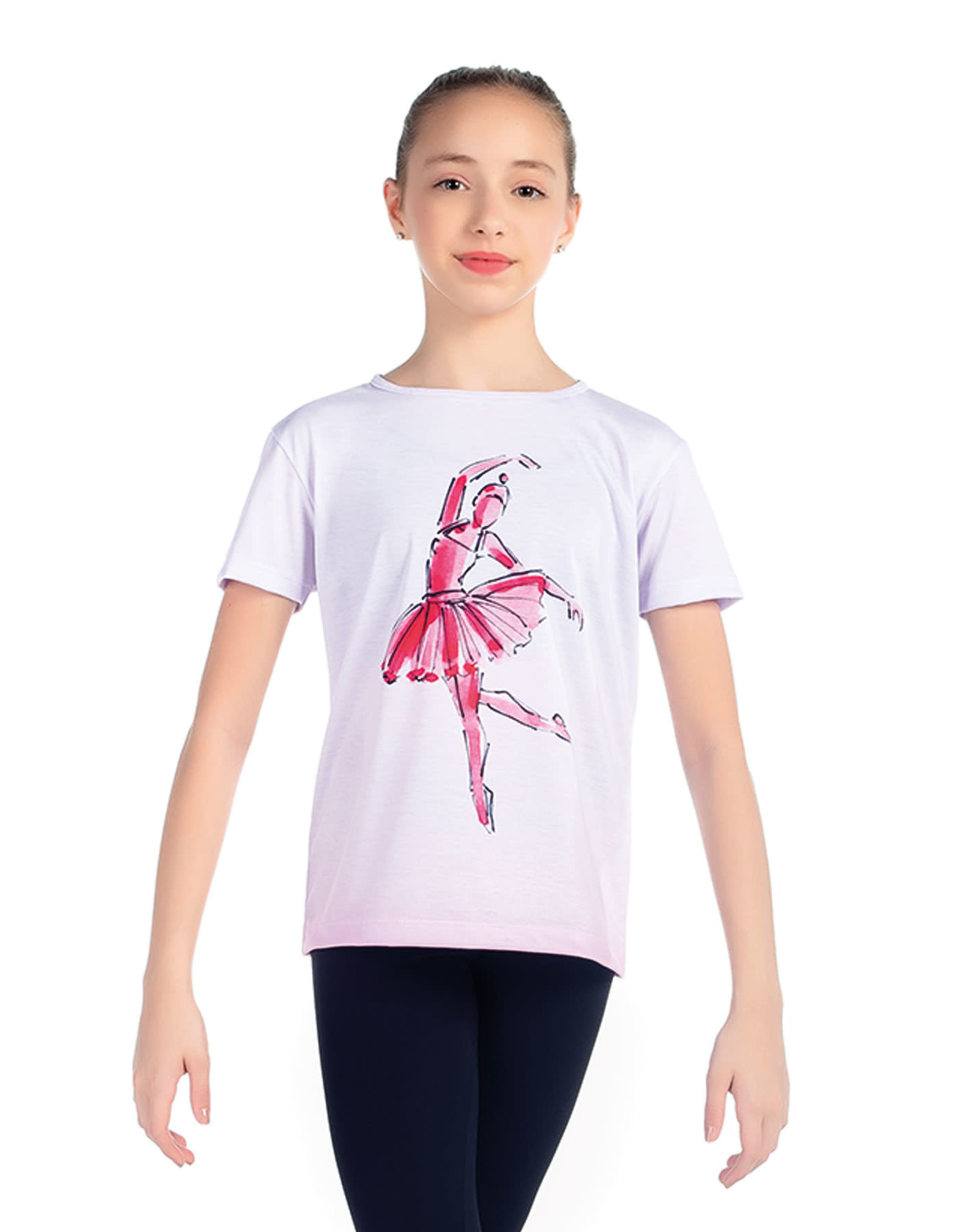 SoDanca SoDanca Kids Ballet Dancer Arebesque shirt
