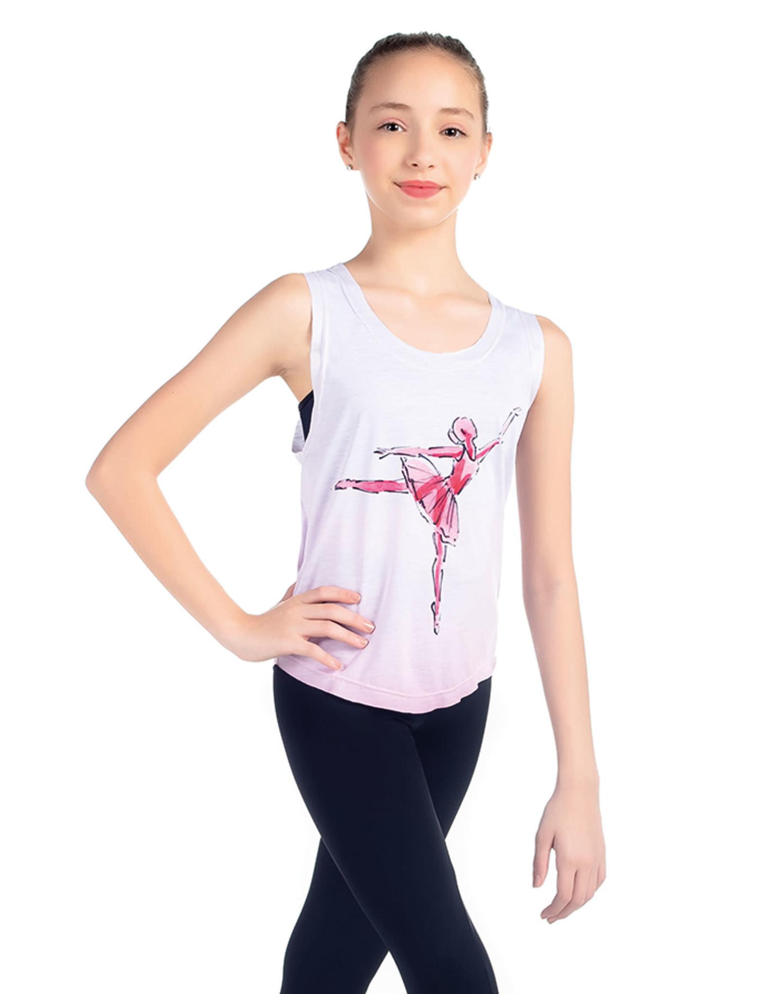 SoDanca SoDanca Kids Ballet Dancer Arebesque Tank