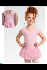 Danshuz Cap Sleeve Dress w/ Glitter Skirt