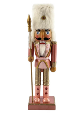 "Nutcracker Ballet Gifts Rose gold 10"" Nutcracker"