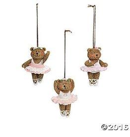 CJ Mercantile Ballerina Bear Ornament