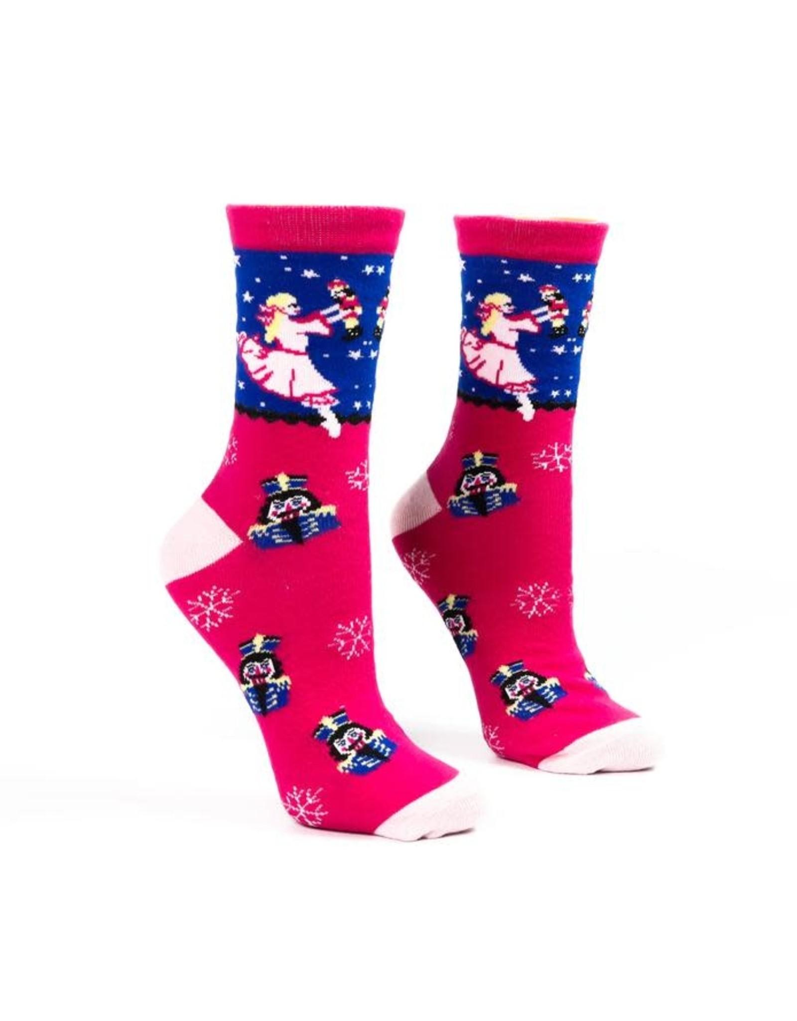 Nutcracker Ballet Gifts Nutcracker dreaming clara socks