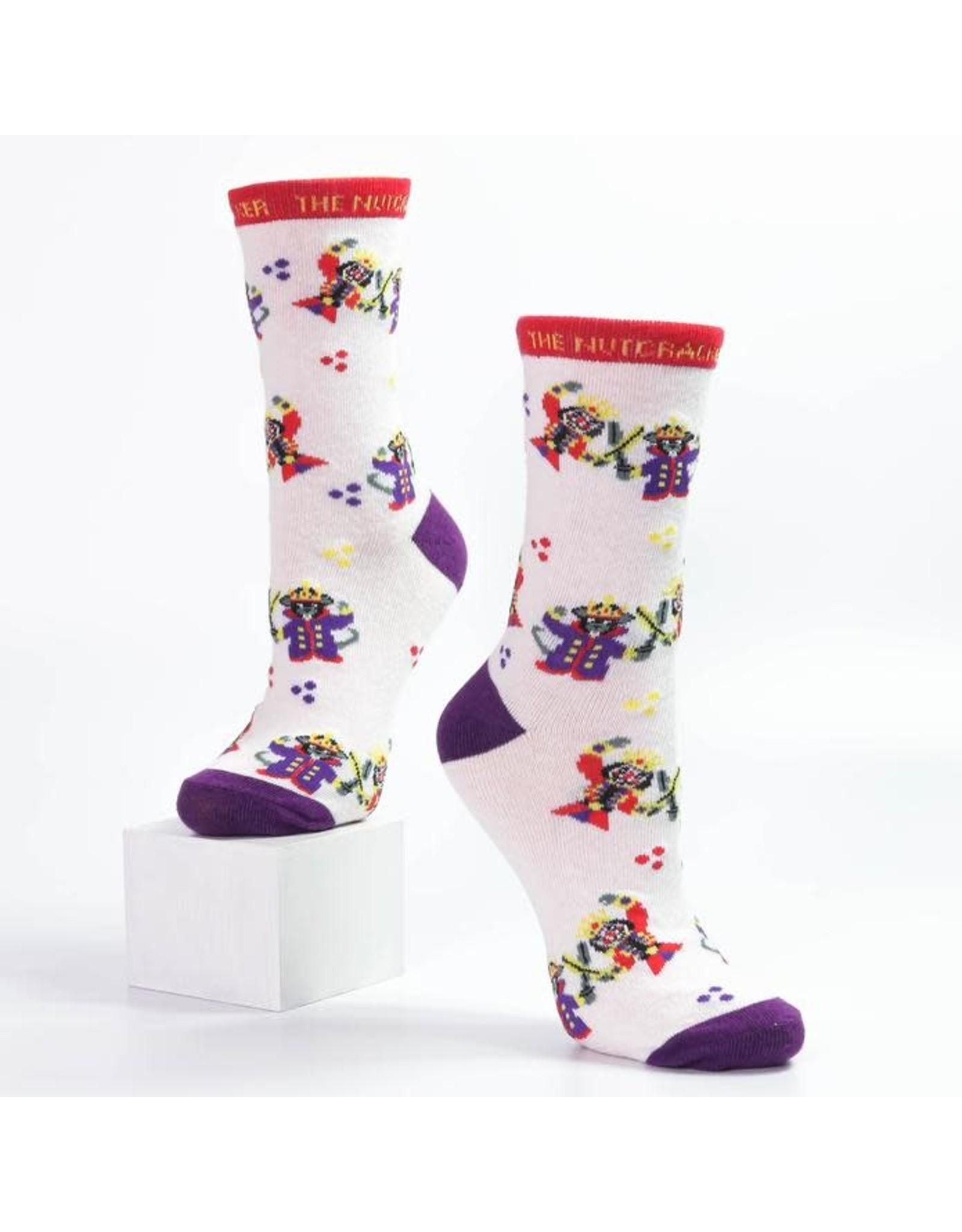 Nutcracker Ballet Gifts Nutcracker battle scene socks