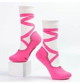 Nutcracker Ballet Gifts Pointe shoe socks