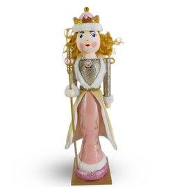 """Nutcracker Ballet Gifts Rose gold nutcracker queen 14"""""""