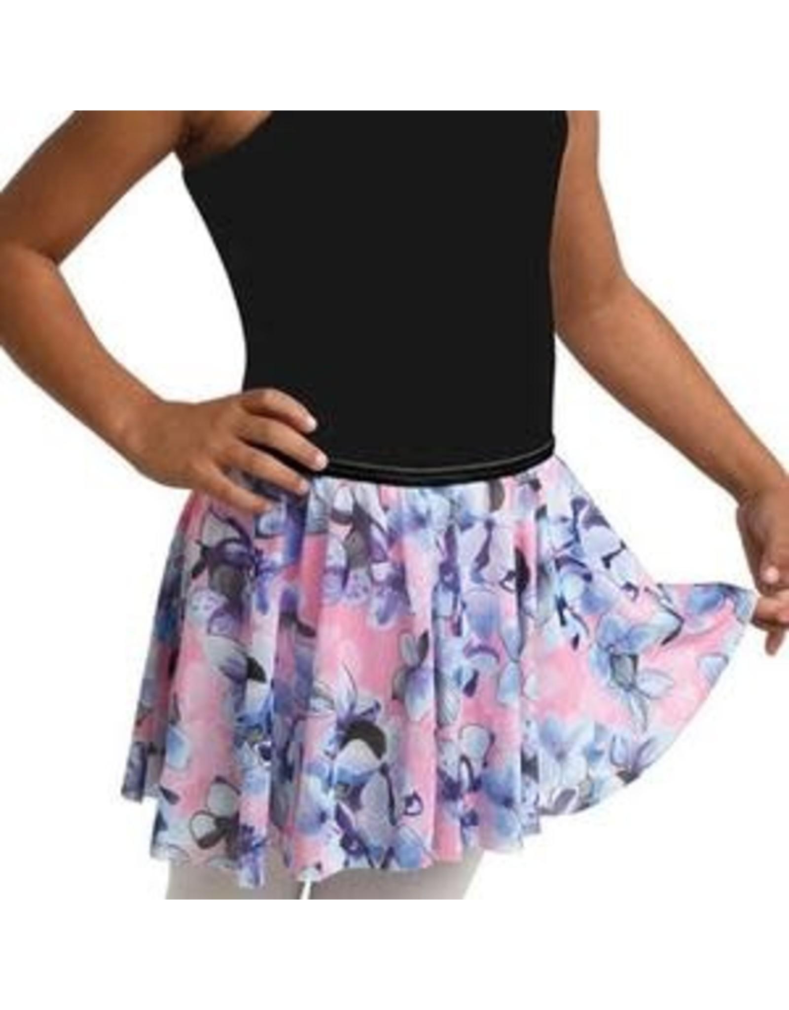 Danshuz Child Danznmotion hydrangea print skirt
