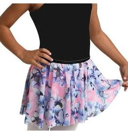 Danshuz Child Danznmotion hydrangea print skirt
