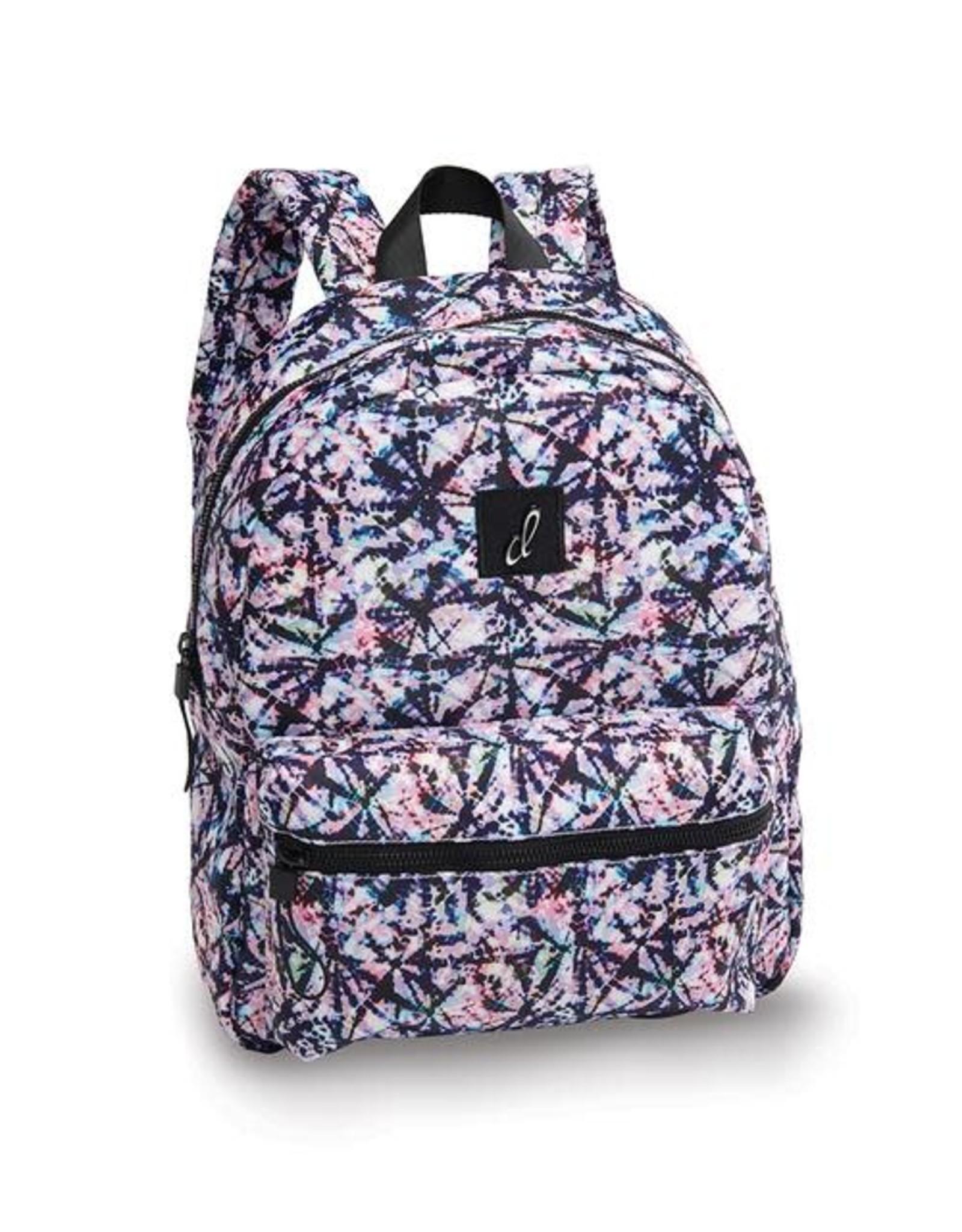 Danshuz Danznmotion tye dye backpack