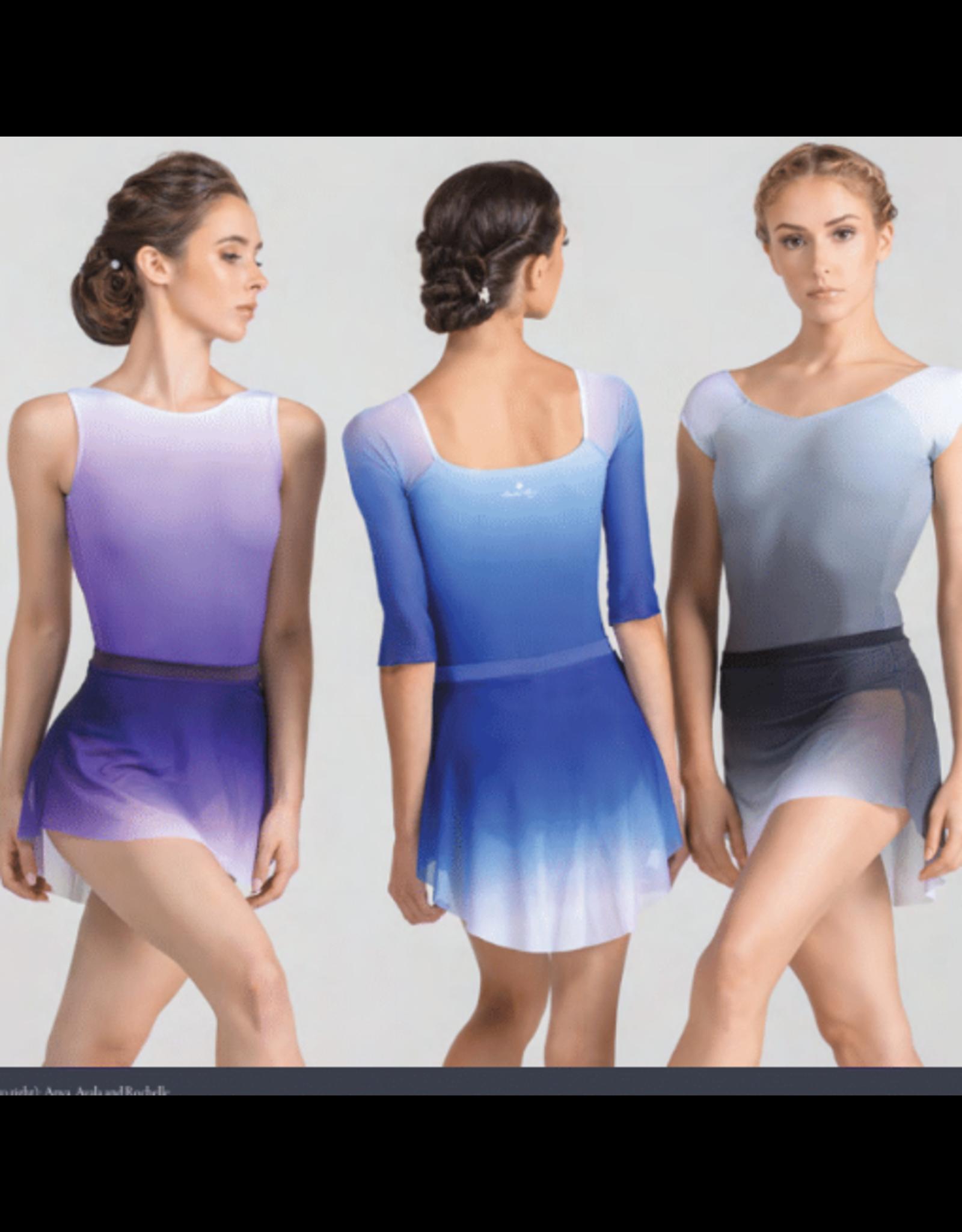 Ballet Rosa Majorie Pull on Ombre Skirt