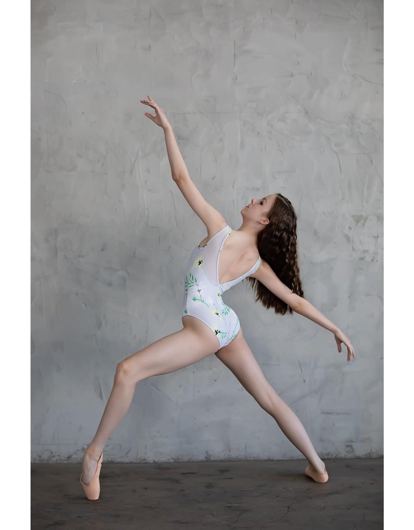 Chic Ballet The Kensington Leotard -  Misty Taupe