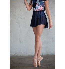 Chic Ballet The Alyvia Skirt Navy
