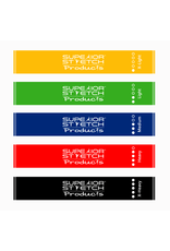 Superior Stretch Products Leg Bands - Short Resistance Loop Bands