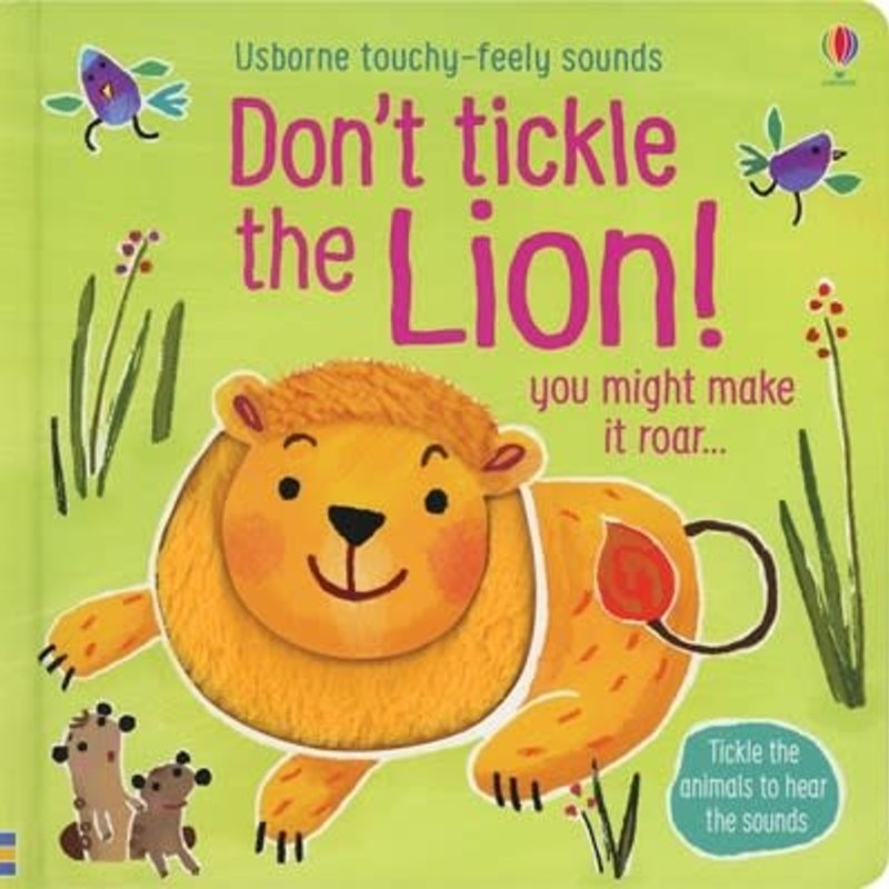 Usborne Don't Tickle the Lion