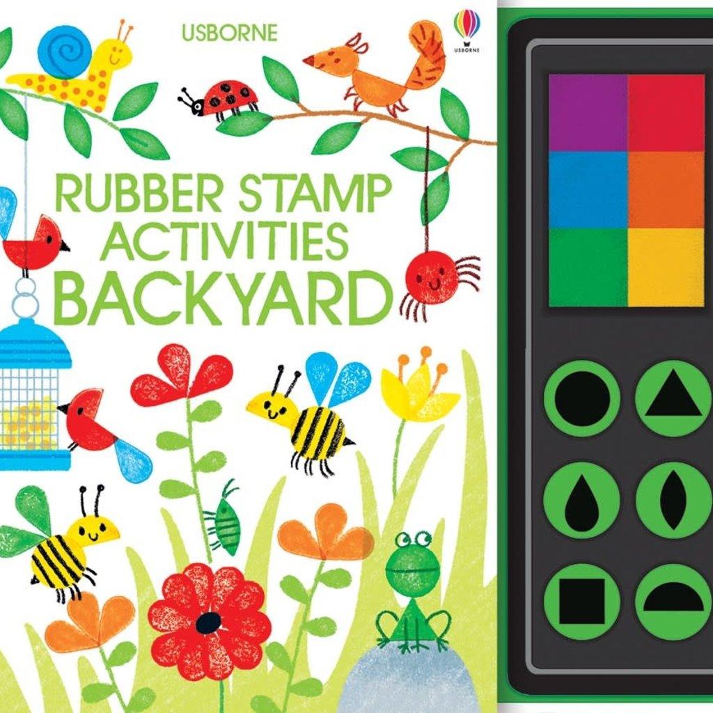 Usborne Rubber Stamp Activities Backyard