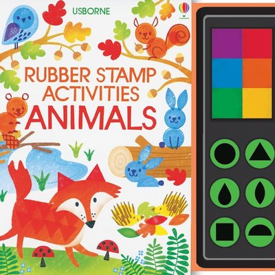 Usborne Rubber Stamp Activities Animals