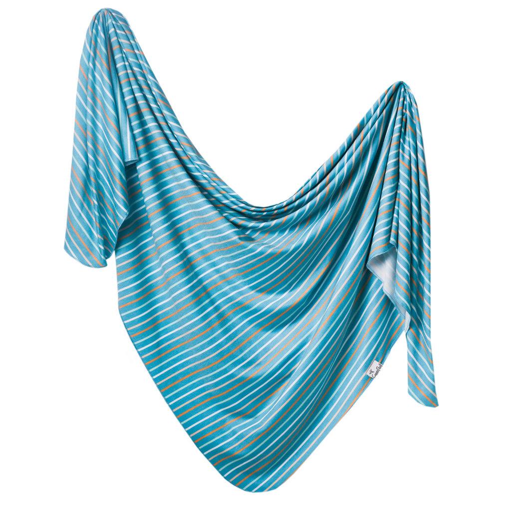 Copper Pearl Milo Knit Swaddle Blanket