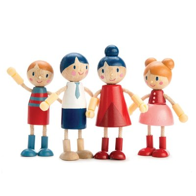Tender Leaf Toys Doll Family | Doll House
