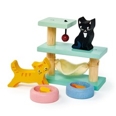 Tender Leaf Toys Pet Cat Set   Doll House