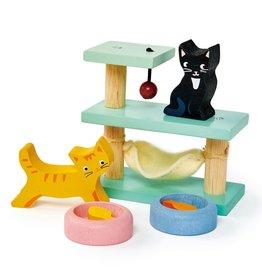 Tender Leaf Toys Pet Cat Set | Doll House