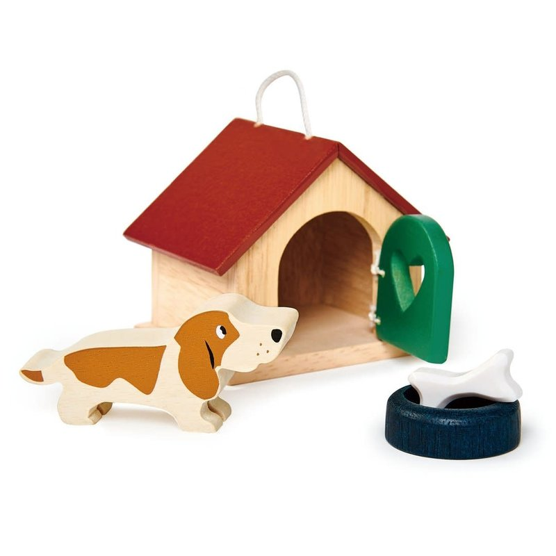 Tender Leaf Toys Pet Dog Set | Doll House