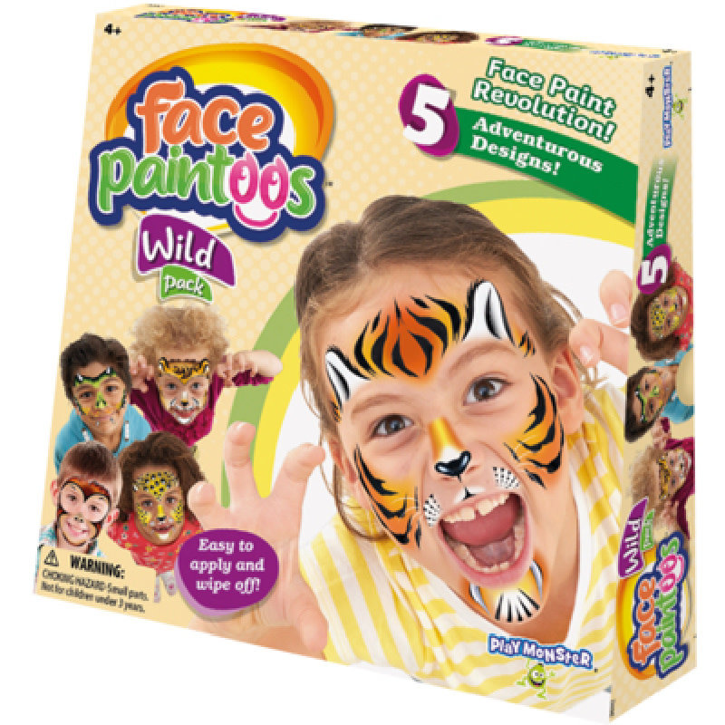 Play Monster Wild Pack Face Paintoos