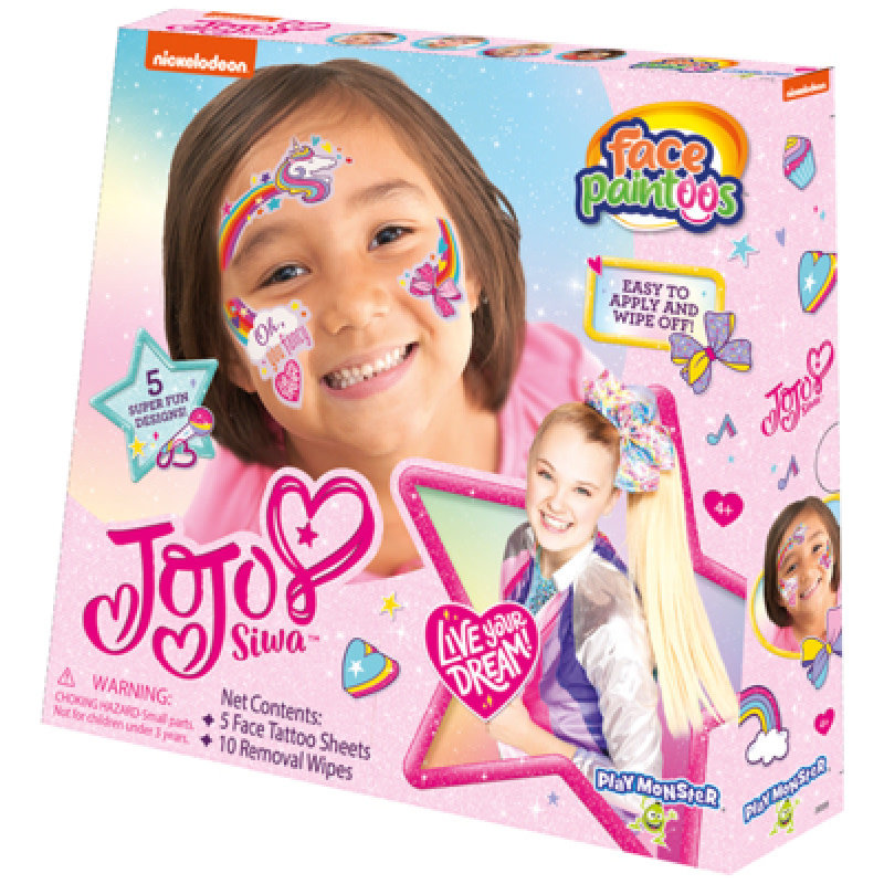 Play Monster Face Paintoos | JoJo Siwa