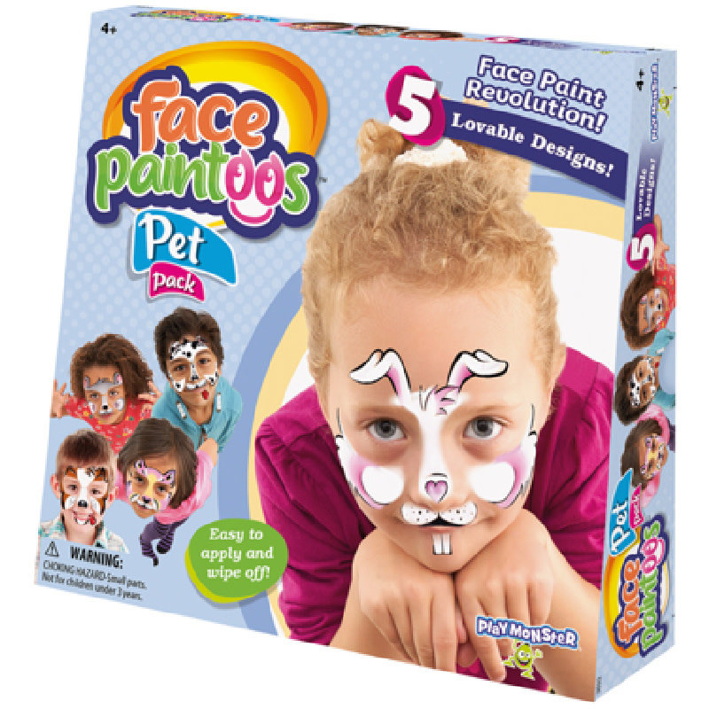 Play Monster Face Paintoos | Pet Pack