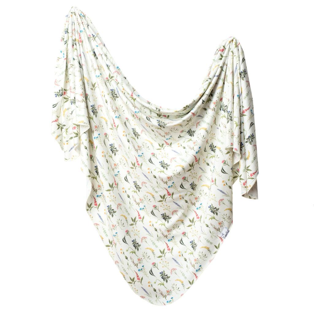 Copper Pearl Aspen Knit Swaddle Blanket