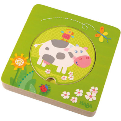 HABA On the Farm Wooden Puzzle