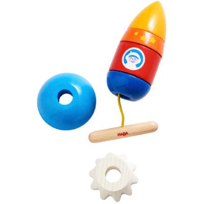 HABA Threading Game Rocket